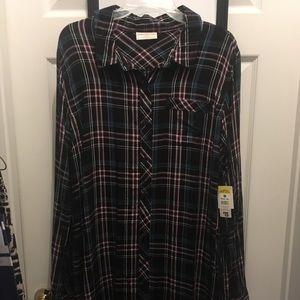 💝BOBBIE Brooks Flannel Dress